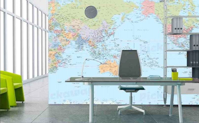 The world on your wall removable wallpaper for sale in for Wallpaper for walls for sale