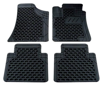 Colorado 4-Piece Car Mat - Black