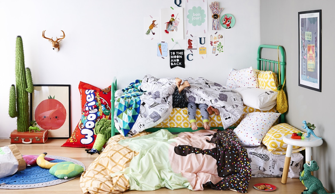 Sack Me! Kids Bedding now on Tinitrader!