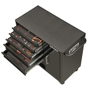 1470KXL6CBK-FF2 Tool Kit Trolley Set 196 Piece 6 Drawer XXL Premium Edition