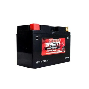 Power AGM 12V 8AH 180CCAs Motorcycle Battery