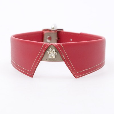 Hamish McBeth Saville Row Red Dog Collar