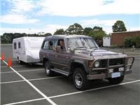 ContACT and Jayco Discovery go back to school. Tow-Ed Towing Course Sandown Park