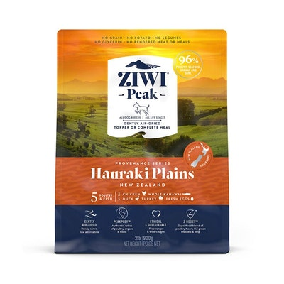 ZiwiPeak ZIWI Peak Provenance Air Dried Dog Food Hauraki Plains 900G
