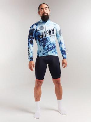 Black Sheep Cycling Men's Elements Micro Jacket - Shibori