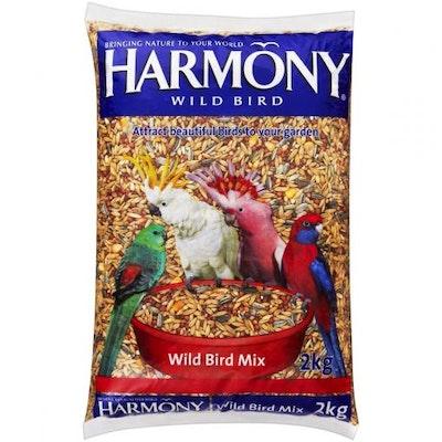 Harmony Wild Bird Seed Mix - 2kg