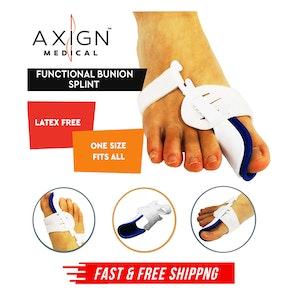 Axign Medical Grade Bunion Night Splint Hallux Valgus Corrector Toe Pain Relief