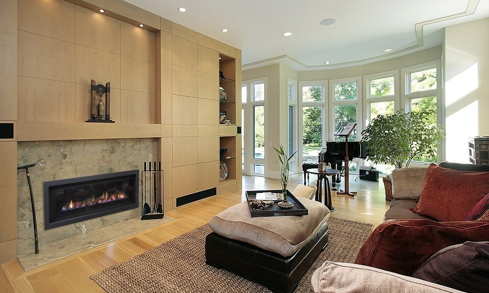 The Element 1200 Fireplace by Real Flame