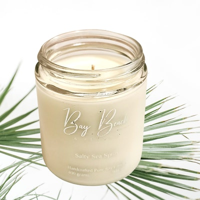 Bay Beach and Beyond Salty Sea Spray Everyday Candle Large
