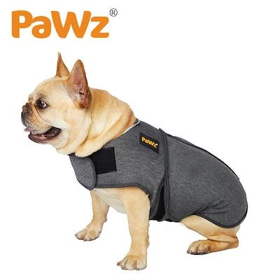 PaWz Dog Thunder Anxiety Jacket Vest Calming Pet Emotional Appeasing Cloth XS