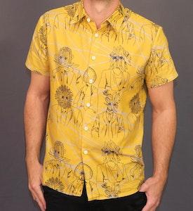 Yellow flower people short sleeve