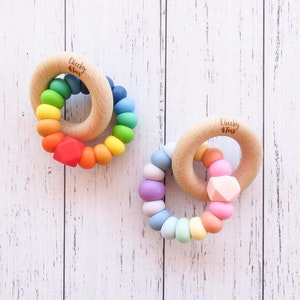 Cheeky Toes™ CHARMED Teether | RAINBOW Collection