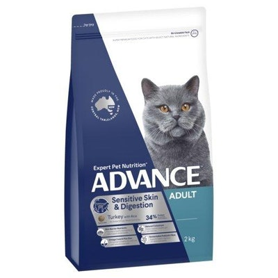 Advance Dry Cat Food Adult Sensitve 2kg