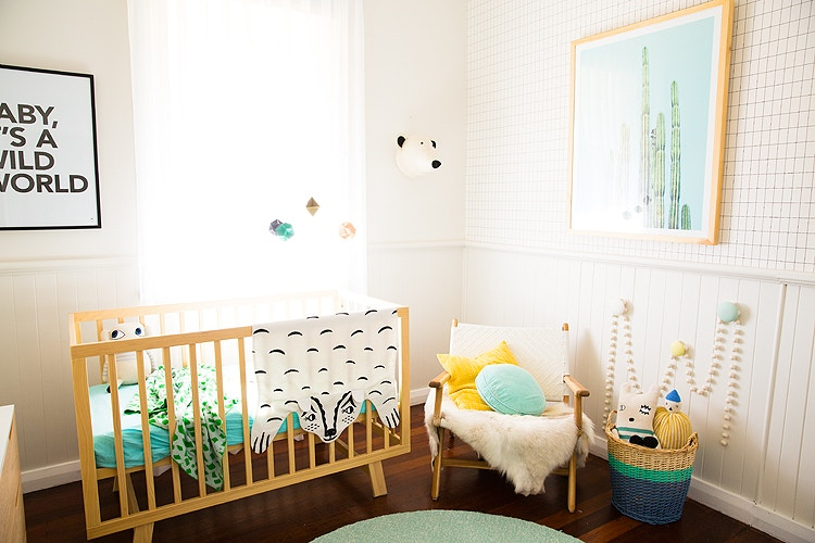 Minted Interiors | Wilbur's Nursery