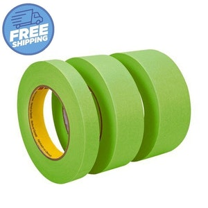 Masking Tape High Temp Green - 4 Carton Sizes Available