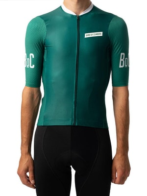 Band of Climbers Helix Pro Jersey - Forest Green