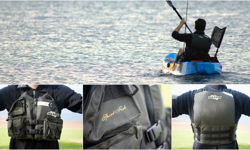 Sportfish L50s Kayak Fishing PFD Review