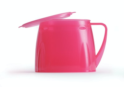 Steadyco Lets Eat Cup & Lid Pink