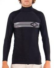 Mens Hook LS Rash Shirt - Black Mens Hook LS Rash Shirt - Black