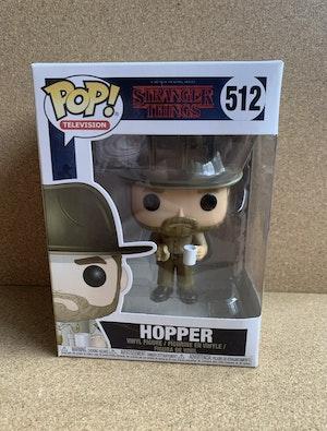 Stranger Things - Hopper with Donut Pop! Vinyl Figure #512