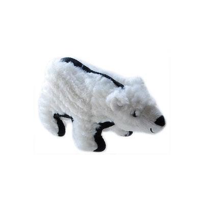 Ruff Play Plush Tuff Polar Bear