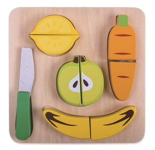 Tooky Toy FRUIT CUTTING PLAY SET