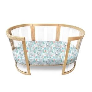 Babyhood Amani Bebe Oval Fitted Sheet
