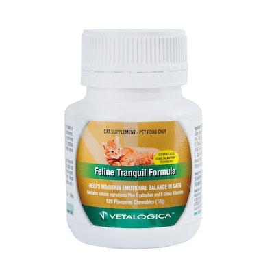 Vetalogica Feline Tranquil Formula Cat Supplement 120 Pack