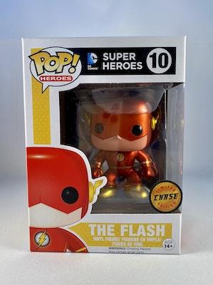 The Flash Chase Metallic #10 DC Super Heroes Funko Pop!