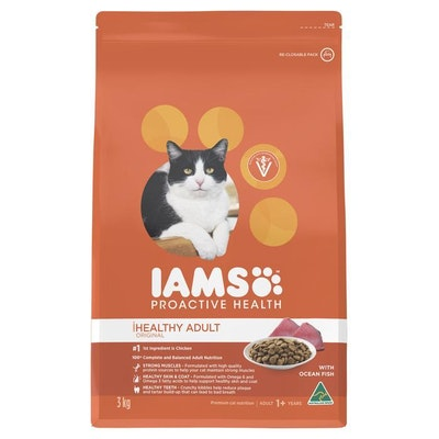 Iams Original Healthy Adult Ocean Fish Dry Cat Food