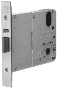 Lockwood Synergy universal primary 4572SC 89mm mortice lock in satin Chrome plate finish