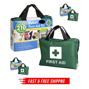 3x 210PCS EMERGENCY FIRST AID KIT Medical Travel Set Workplace Office ARTG BULK
