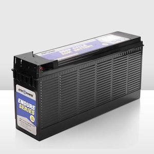 12V 120Ah AGM Battery Slim Deep Cycle Battery Portable 4WD Sealed Marine Solar