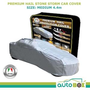 Premium Hail Stone Storm Car Cover Window Protection Sedan to 4.4m Waterproof