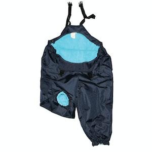 Silly Billyz XL Aqua/Navy Waterproof Overall