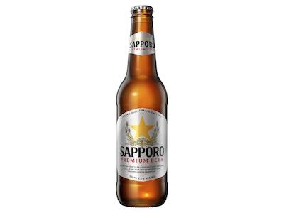 Sapporo Premium Beer Bottle 355mL
