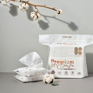 Mother-K Dry Tissue 100% Cotton (15pcs)