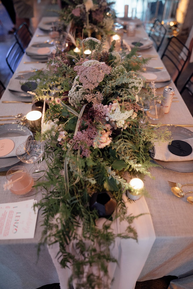 Furniture Hire Events Melbourne Place Settings
