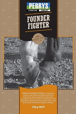 Perrys Founder Fighter Horse Feed Supplement 20kg