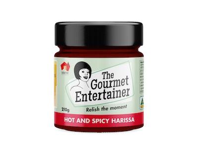 Harissa Hot Less than 15% sugar