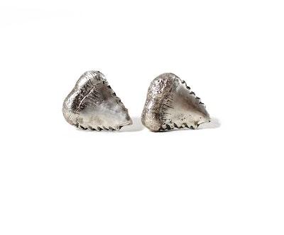 Robyn Heritage Jewellery Meg, Shark Tooth Stud Earring 2021