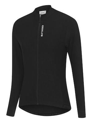 Attaquer Womens Race Long Sleeved Jersey Black