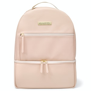 Petunia Pickle Bottom Axis Backpack - Blush Leatherette