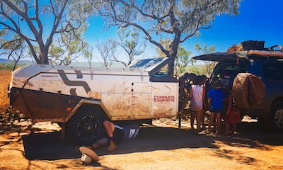 Make Like MacGyver: snapped brakes on the Gibb River Road