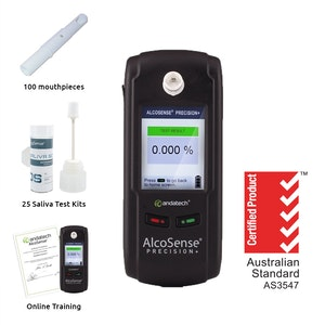 Andatech Precision+ Alcohol And Drug Testing Kit Combo