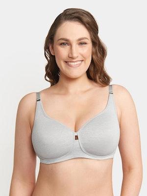 Gorgeous Maternity Bra - Grey Marle