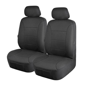 Universal Platinum Front Seat Covers Size 30/35 | Charcoal