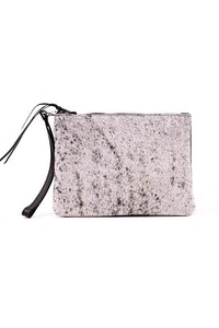 Hitchley & Harrow Hide & Leather Clutch #544