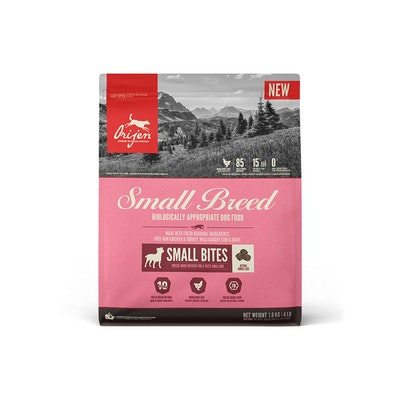 Orijen Biologically Appropriate Dog Food Small Breed 1.8KG