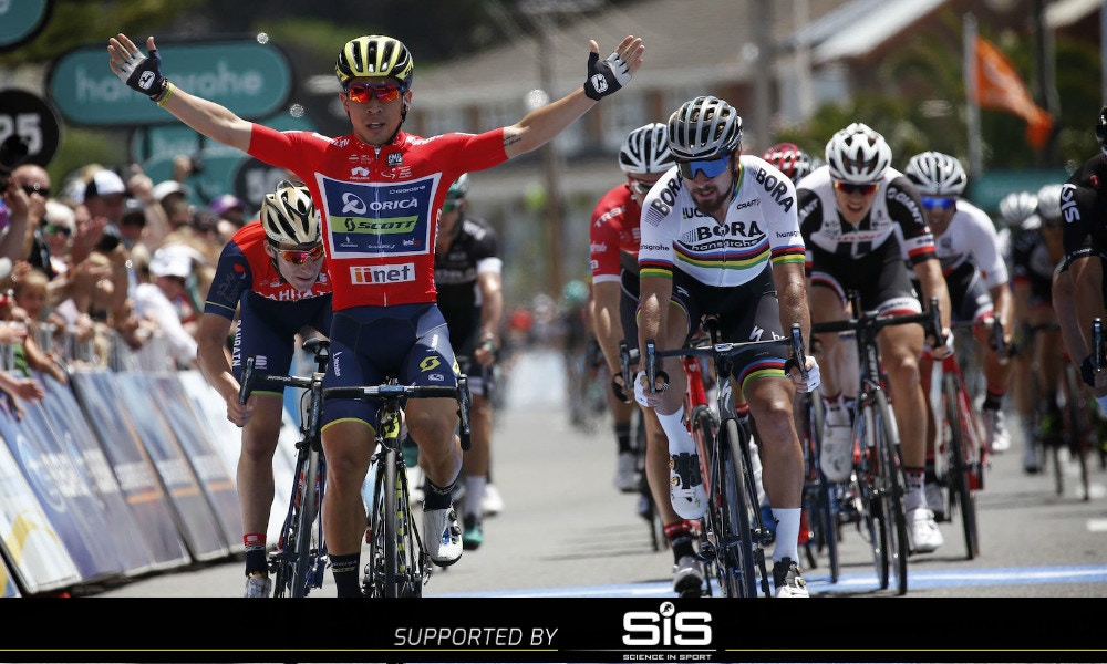 Caleb Ewan Sprints to Stage 3 Victory